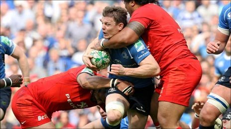 Leinster vs Toulouse