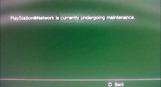 Playstation Network suspended