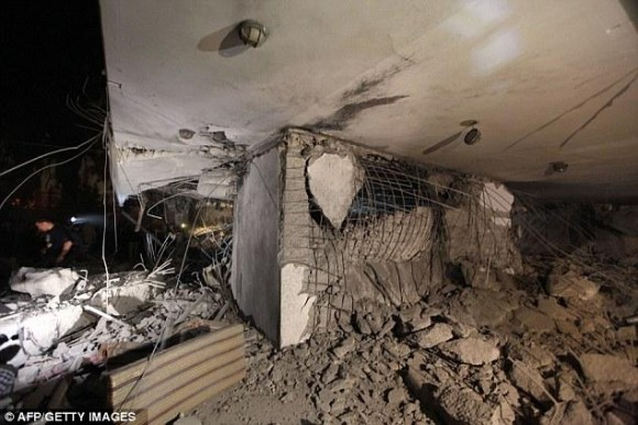 NATO strike misses Gadhafi but kills a son