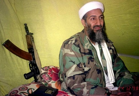 al Qaida leader Osama Bin Laden