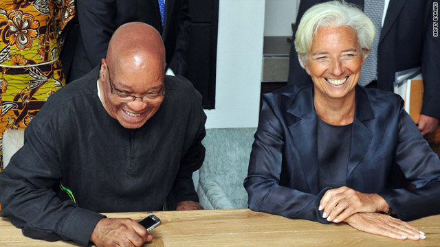 Did South Africa snub IMF's Christine Lagarde?
